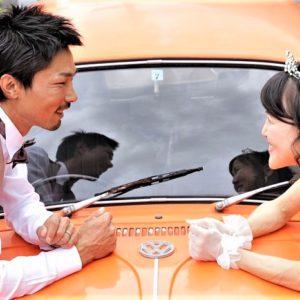 【フォトウエディング】本番の結婚式のような撮影With愛車♡