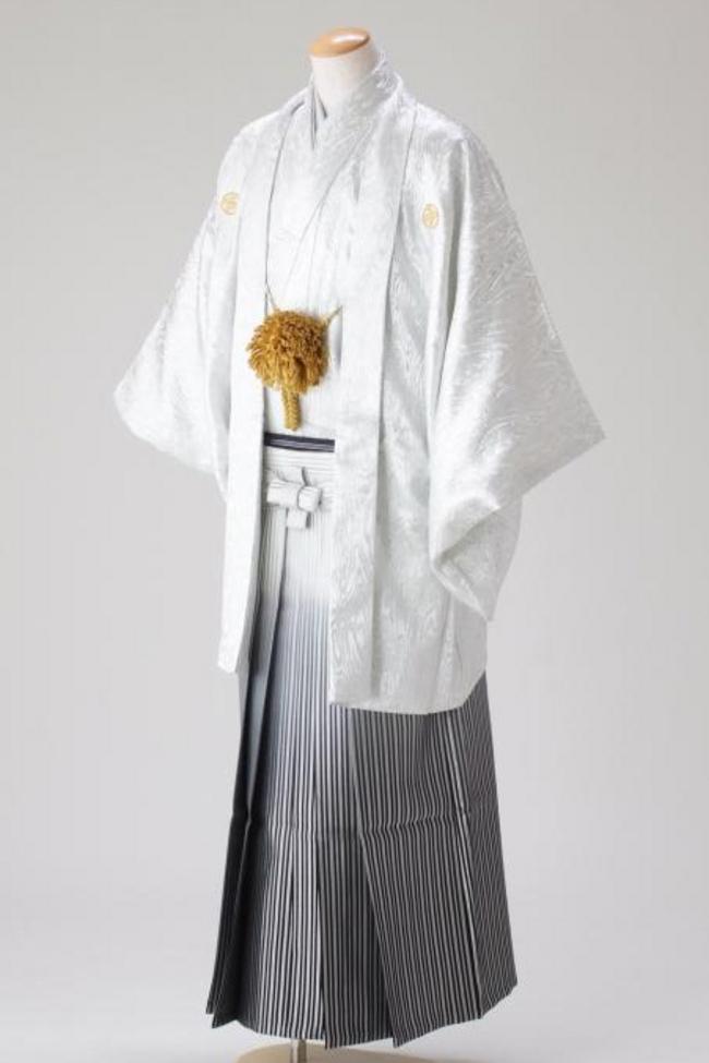 N【8005】袴-シルバー