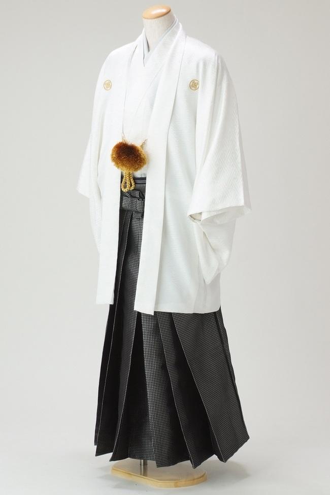 N・O【8006】袴-白-