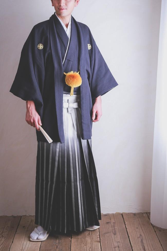 N・O【8008】袴-紺-